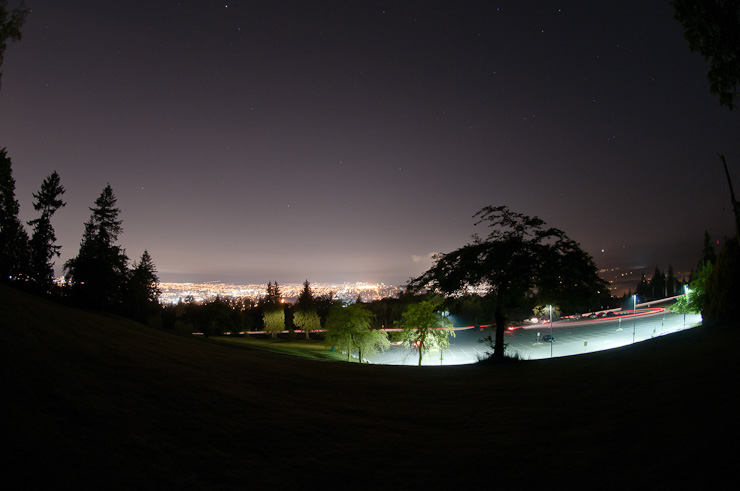 The view from Centennial Way, SFU, Burnaby BC